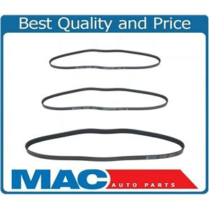 For 1996-1998 Acura TL 3.2L A/C Power Steering Alternator Belts Kit