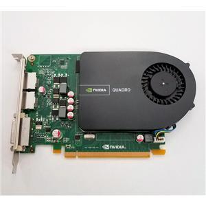 Dell Nvidia Quadro 2000 1GB GDDR5 SDRAM 128bit PCIe 2x16 Grapics Card GGMPW