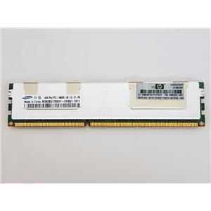 HP Samsung M393B5170EH1- CH9Q1 4GB 2Rx4 PC3-10600R ECC Registered 500203-061