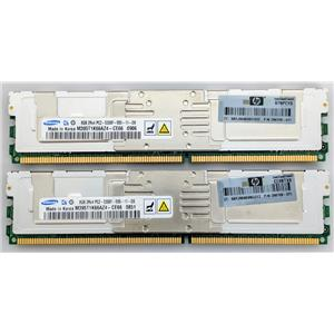 HP Samsung 2x8GB 2Rx4 PC2-5300F RAM ECC Fully Buffered 398709-071 16GB Kit