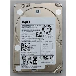 "Dell 1.8TB 10K SAS 2.5"" 12Gbps 43N12 ST800MM0018 Enterprise Hard Drive"
