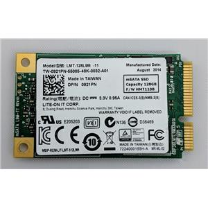 Dell 128GB mSATA Solid State Drive  DP/N 921PN / Lite-On LMT-128L9M