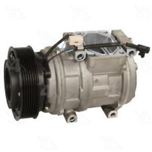 AC Compressor For Jaguar Vanden Plas XJ8 XJR XK8 (1YW) New 98342