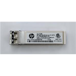 HP AJ716B 8Gb Shortwave B-series Fibre Channel SFP+FTLF8528P3BNV-H2  670504-001
