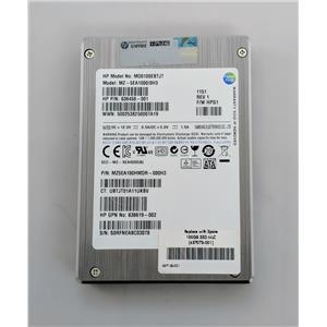 "HP 100GB SATA 6Gbps 2.5"" MLC SSD MZ5EA100HMDR 637073-001 636619-002 636458-001"