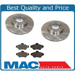 (2) 10 7/8 Inch Front Rotors & Ceramic Pads for 1993-1997 Thunderbird Cougar