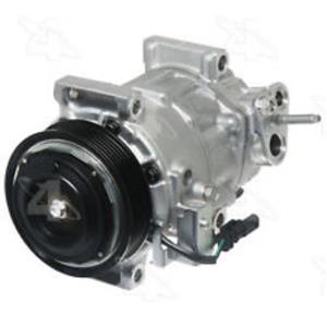 AC Compressor Fits 2015-17 Silverado 2500 3500 HD 2015-16 Sierra 2500 3500 HD
