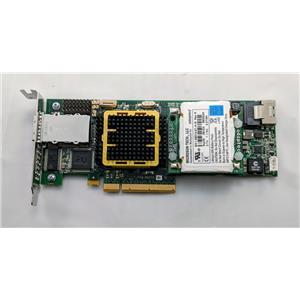 Adaptec ASR-5445 8-Port RAID SATA SAS PCIe Controller Low Profile with Battery
