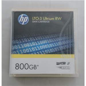 Brand New HP LT03 Ultrium RW Data Cartridge 800GB C7973A Tape