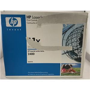 HP LaserJet 2410 2420 2430 High Yield Laser Toner Cartridge HP 11X Q6511X
