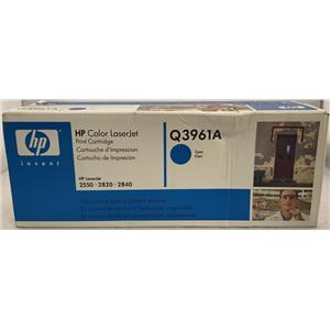 HP Laserjet 2550, 2820, 2840 Cyan Print Cartridge Q3961A 122A
