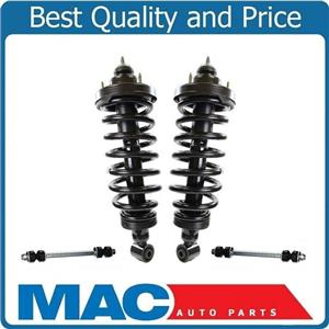 (2) 100% New Complete REAR Coil Spring Struts for 07-10 Ford Sport Trac 4Pc NEW