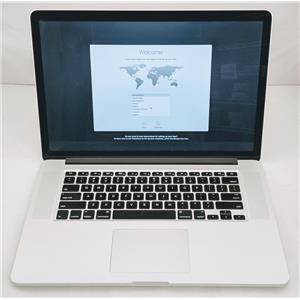 "Apple Macbook Pro MGXA2LL/A 15.4"" i7-4770HQ 2.2GHz 512GB SSD 16GB High Sierra"