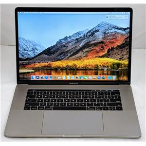 """Apple Macbook Pro MPTR2LL/A 15"""" i7-7700HQ 2.8GHz 256GB SSD 16GB OS High Sierra"""