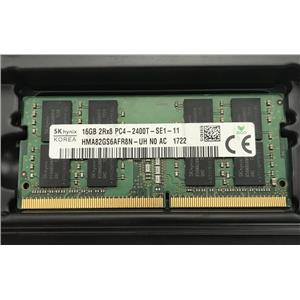 Hynix 16GB 2Rx8 PC4-19200 DDR4-2400MHz nonECC Unbuffered SODIMM HMA82GS6AFR8N-UH