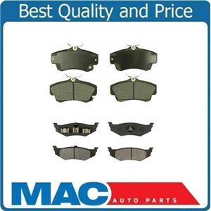 01-10 CHRYSLER PT CRUISER & TURBO F & R Ceramic Brake Pads CD841 CD658