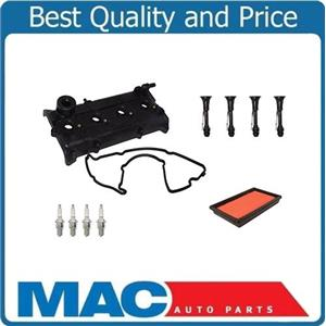 Valve Cover Gasket Kit with Spark Plug & Coil Connectors for Nissan Altima 02-06