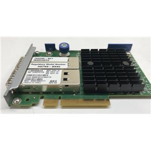 HPE InfiniBand FDR/Ethernet 10Gb/40Gb 2-port 544+FLR-Q 764737-001 764285-B21