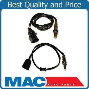 01-05 A4 02-05 Passat 1.8L Turbo Front & Rear 2 O2 Oxygen Sensor Direct Fit