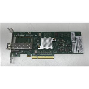 HP 81B PCI-e 8GB Fiber Channel Single Port HBA Small Bracket 571520-001 w/ SFP