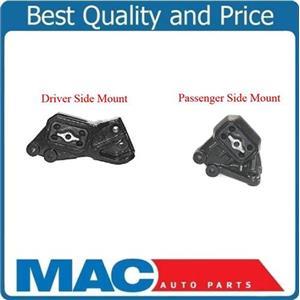 (2) 100% New Engine Mount, Left & Right Dodge Ram 1500 02-05 4.7L 4 Wheel Drive