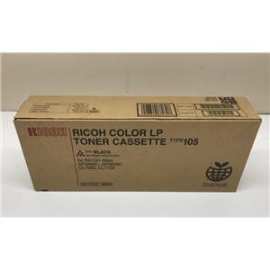 Ricoh Black Toner Cartridge Type 105 888372