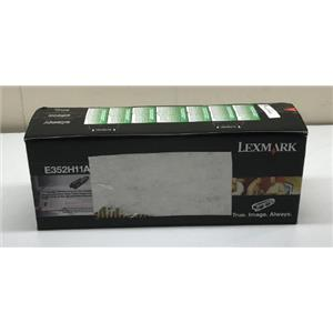 Lexmark Black High Yield 9K Toner Cartridge E352H11A