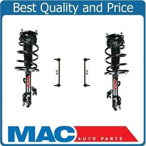 07-11 Camry 4CYL Front Quick Coil Spring Strut and Mount Sway Bar Links