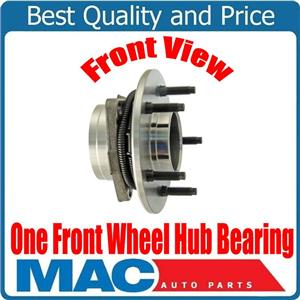 (1) 100% New FRONT Wheel Bearing & Hub for 4 Wheel Drv 4W ABS 5Std 97-99 F150