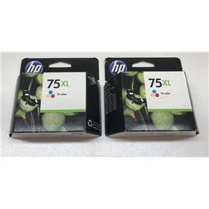 HP 75XL Tri-color Inkjet Print Cartridge CB338WN