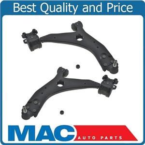 (2) 100% New L&R Lower Control Arm BJ W/ Bracket Bushings for Volvo C30 08-2013