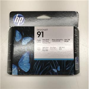 HP 91 Photo Black and Light Gray Printhead C9463A