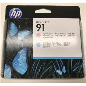 HP 91 Light Magenta and Light Cyan Printhead C9462A