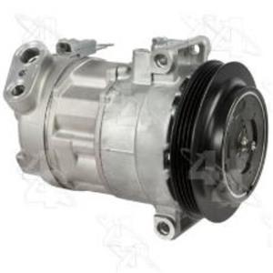 AC Compressor fits 2008-2009 Pontiac G8 (1 Year Warranty) R68339