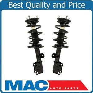 (2) 100% New FRONT Complete Coil Spring Struts For 2013-2018 Ford Flex