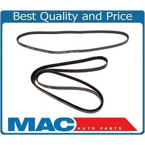 Air Conditioner Alternator & Power Steering Belts 97-99 Chevrolet Corvette 5.7L