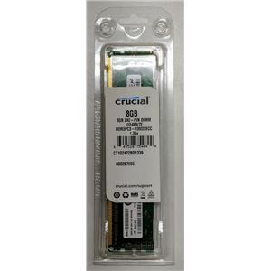 Crucial 8GB PC3-12800 DDR3-1600 ECC Unbuffered 1.35V CT102472BD1339.18FED