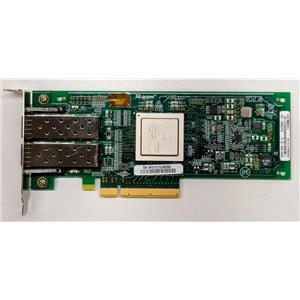 Dell Qlogic QLE2562L-DEL HBA PCIe x8 8Gbps FC Dual Port RW9KF Low Profile
