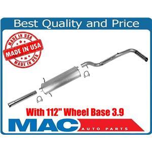 "00-03 4 Wheel Drive for Dodge Dakota Regular Cab 112"" WB 3.9 Exhaust Pipe System"