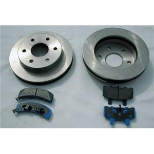 2003-2006  Silverado Sierra Rear  Brake Rotors & Pads