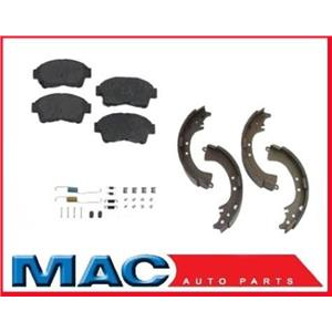 1996-2000 Rav4 Frt Brake Pads Rear Brake Shoes & Spring kit