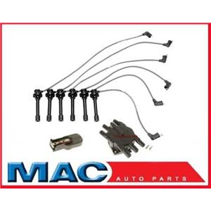 New Spark Plug Wire Set Cap & Rotor fits for 96-00 Chrysler Sebring 2.5L