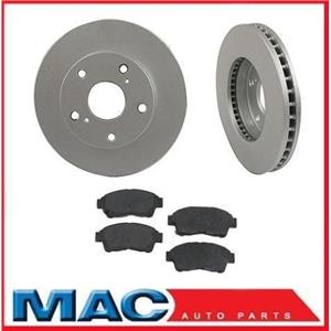 For 1992-99 Toyota Camry (2) 3291 Front Premium Rotor & Ceramic Pads