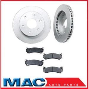 Replex Automotive 55067 Rear Brake Rotors 13 x 1 1/16 Inch Ceramic Brake Pads