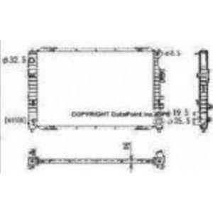 Escape Mariner NEW OSC 2762 Radiator