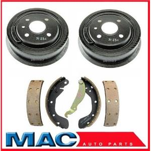 Lanos With 4 Wheel ABS (2) Rear Brake Drums and Shoes