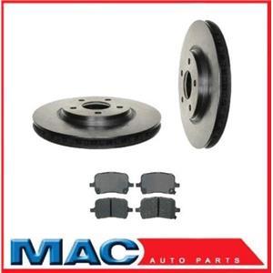 2008-20909 G5 11 21/64 Front Brake Rotors & Ceramic Pads