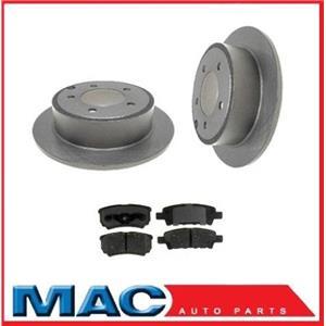 Disc Brake Rotor Rear Premium 10.30 Inch (2) 53036 With CD1037 Ceramic Rr Pads