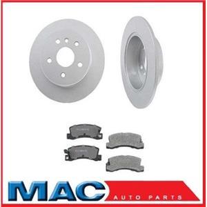 01-03 For Highlander 4X4 Rear Brake Rotors & Ceramic Pads 31261 CD885