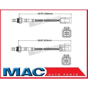 96-00 Pathfinder (2) Rear O2 Oxygen Sensor Direct Fit